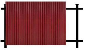 Забор из Профнастила вертикальный, Установка заборов