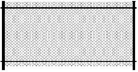Забор из сетки рабицы натяжной, Установка заборов